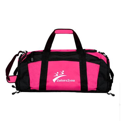 Tropical Pink Gym Bag '2utors2you'