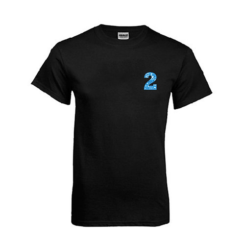 Black T Shirt '2utors2you Math'