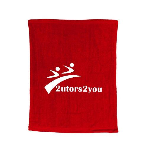 Red Rally Towel '2utors2you'