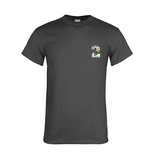 Charcoal T Shirt '2utors2you English'