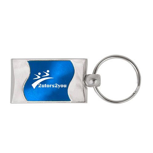 Silverline Blue Wave Key Holder '2utors2you'