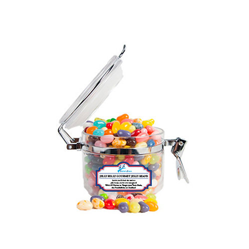 Jelly Belly Small Round Canister '2utors2you'