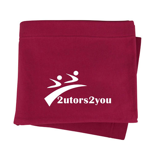 Maroon Sweatshirt Blanket '2utors2you'