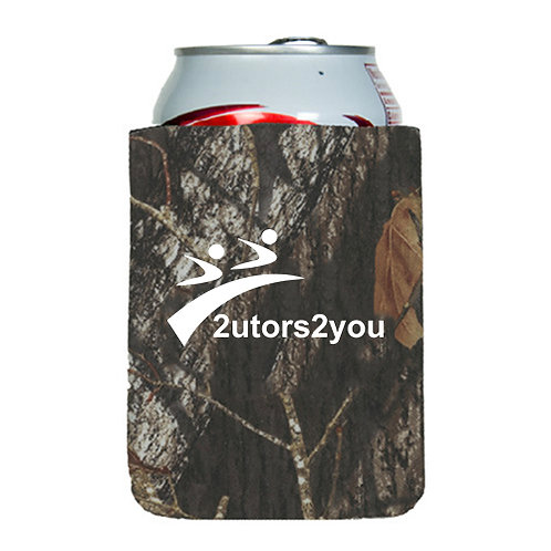 Neoprene Camo Can Holder '2utors2you'