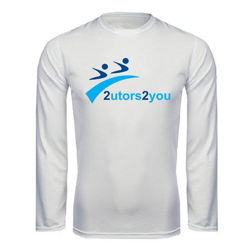 Performance White Longsleeve Shirt '2utors2you'