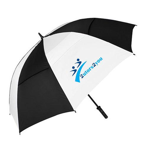 Black/White Umbrella '2utors2you'