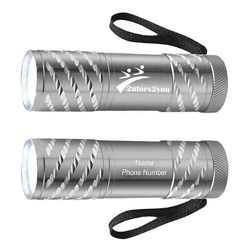 Astro Silver Flashlight '2utors2you'
