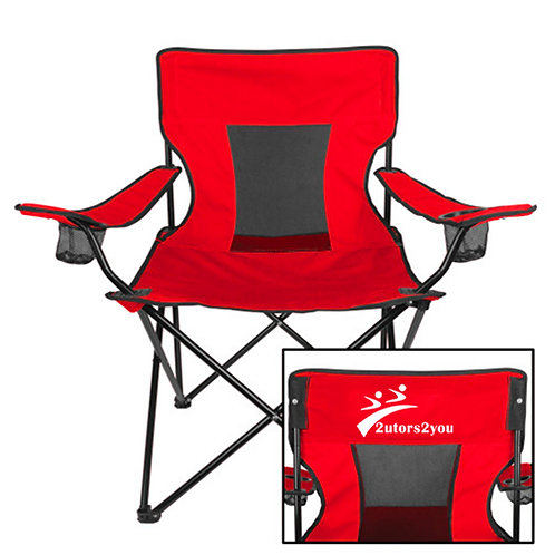 Deluxe Red Captains Chair '2utors2you'