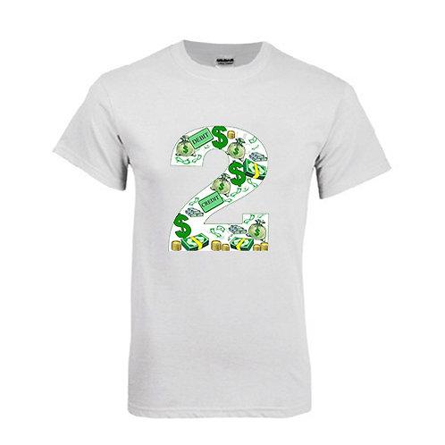 White T Shirt '2utors2you Financial'