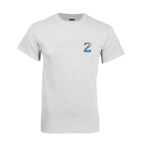 White T Shirt '2utors2you Science'