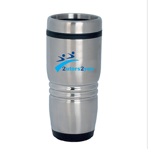 Rolling Ridges Silver Stainless Tumbler 16oz '2utors2you'
