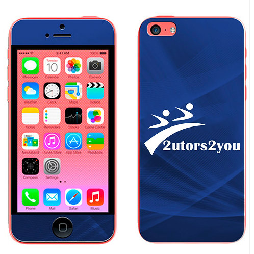 iPhone 5c Skin '2utors2you'