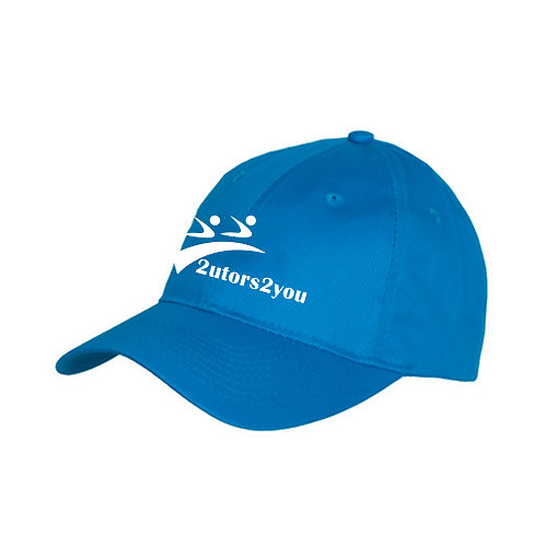 Sapphire Twill Unstructured Low Profile Hat '2utors2you'