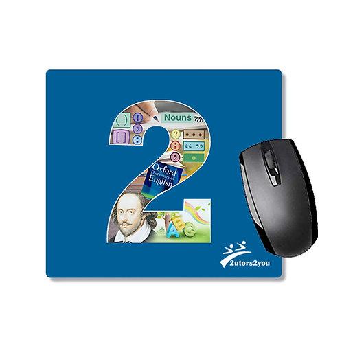 Full Color Mousepad '2utors2you English'