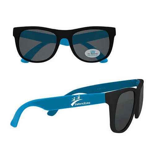 Black/Blue Sunglasses '2utors2you'
