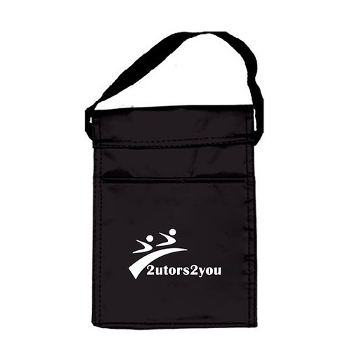 Koozie Black Lunch Sack '2utors2you'