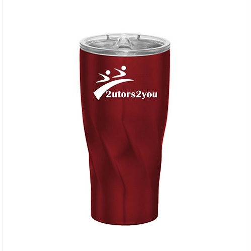 Hugo Vacuum Insulated Red Tumbler 20oz '2utors2you'