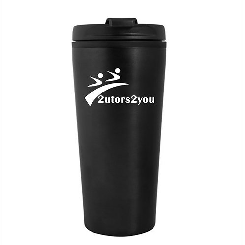 Tempe Black Double Wall Tumbler 16oz '2utors2you'