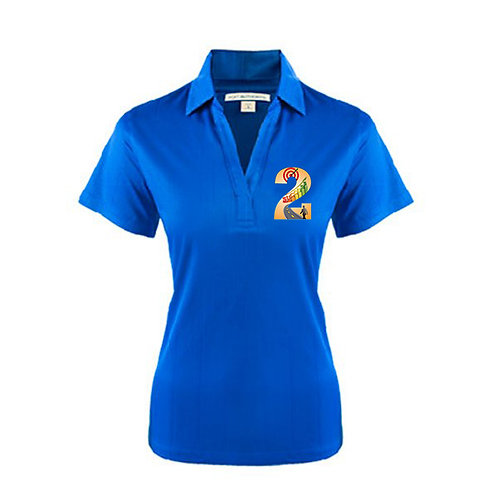 Ladies Royal Performance Fine Jacquard Polo '2utors2you Success