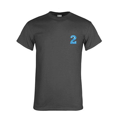 Charcoal T Shirt '2utors2you Math'