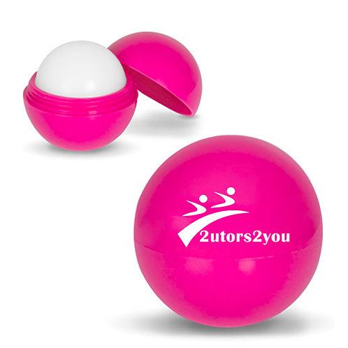 Fuchsia Lip Moisturizer Ball '2utors2you'