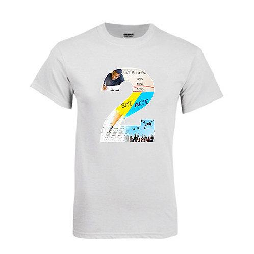 White T Shirt '2utors2you SAT/ACT'