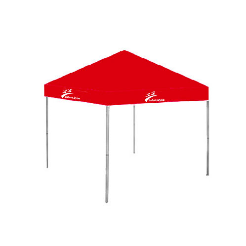 9 ft x 9 ft Red Tent '2utors2you'