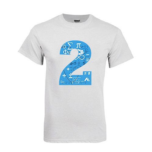 White T Shirt '2utors2you Math'