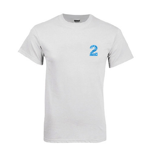 White T Shirt '2utors2you Math'