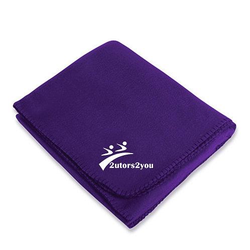 Purple Arctic Fleece Blanket '2utors2you'