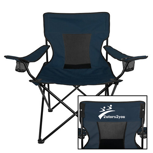 Deluxe Navy Captains Chair '2utors2you'