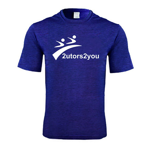 Performance Purple Heather Contender Tee '2utors2you'