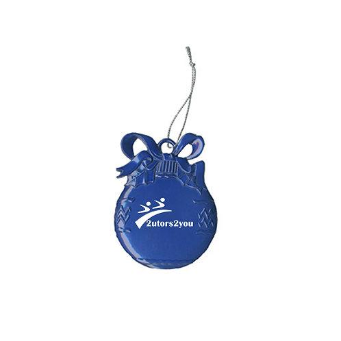 Royal Bulb Ornament '2utors2you'