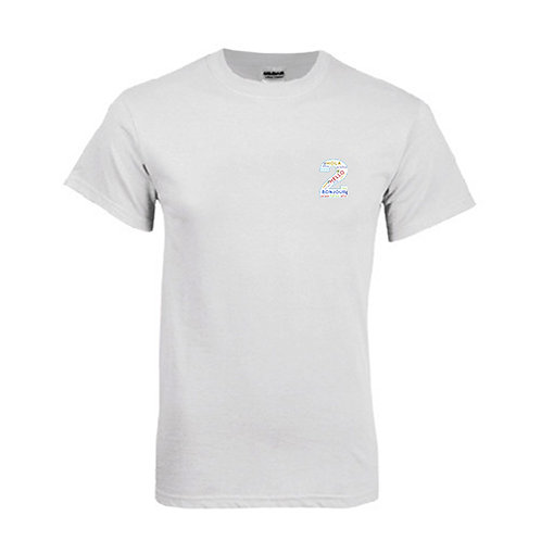 White T Shirt '2utors2you Language'