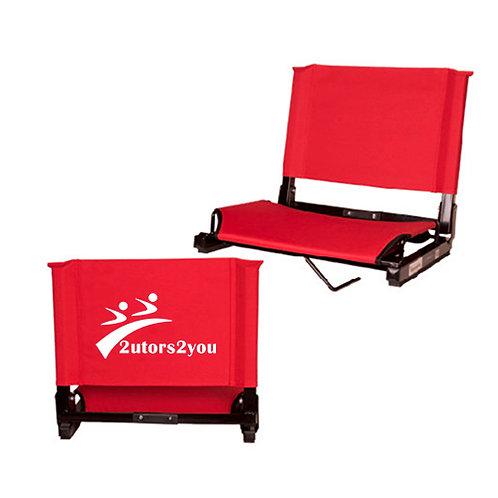 Stadium Chair Red '2utors2you'
