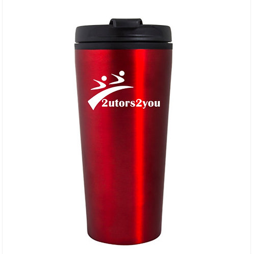 Tempe Red Double Wall Tumbler 16oz '2utors2you'