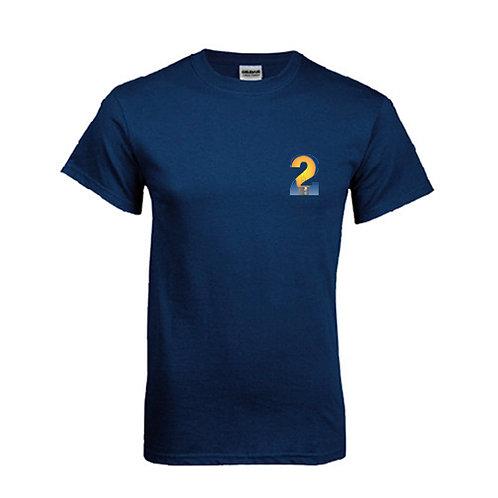 Navy T Shirt '2utors2you Entrepreneurship'