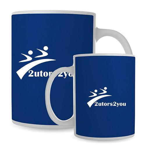 Full Color White Mug 15oz '2utors2you'