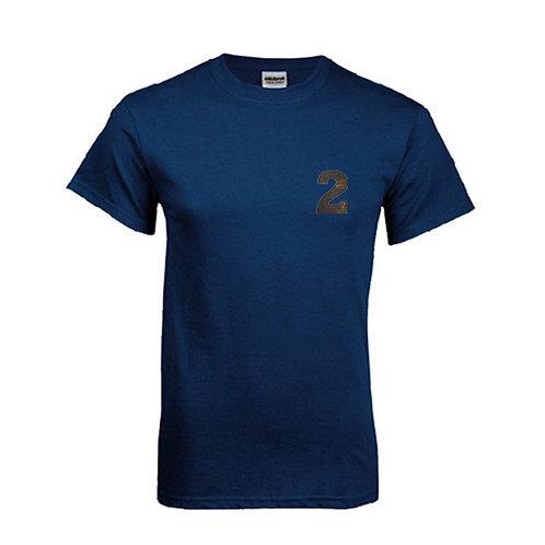 Navy T Shirt '2utors2you Bible'