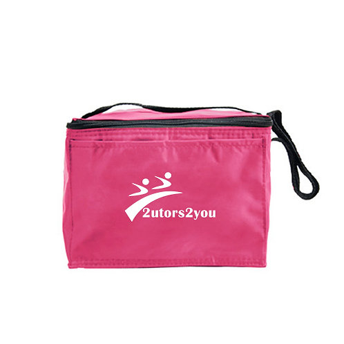 Six Pack Pink Cooler '2utors2you'