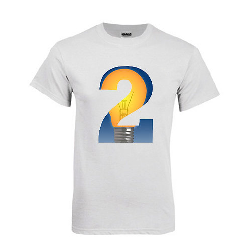 White T Shirt '2utors2you Entrepreneurship'