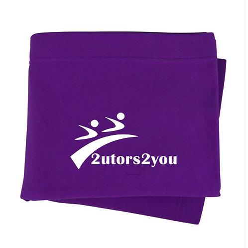 Purple Sweatshirt Blanket '2utors2you'
