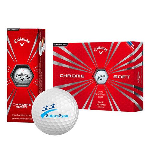 Callaway Chrome Soft Golf Balls 12/pkg '2utors2you'