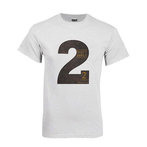White T Shirt '2utors2you Bible'