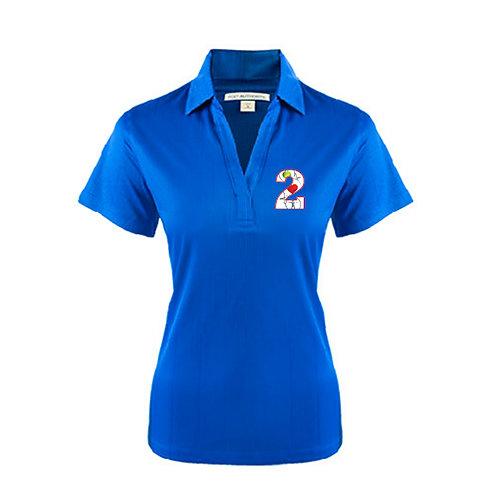 Ladies Royal Performance Fine Jacquard Polo '2utors2you Health'