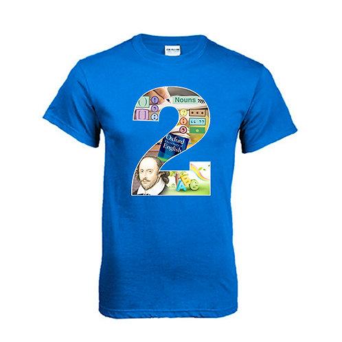 Royal T Shirt '2utors2you English'