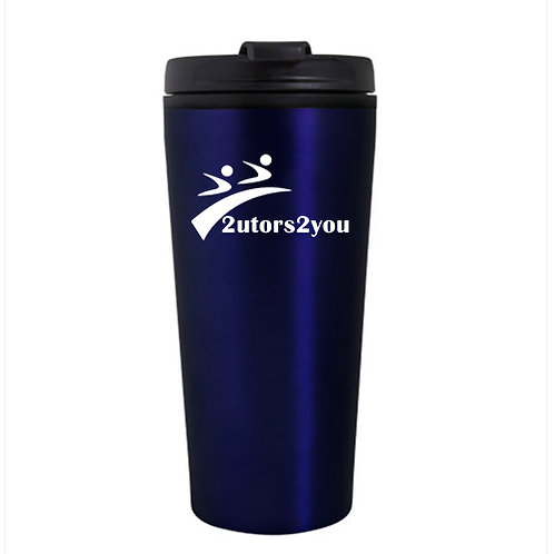 Tempe Blue Double Wall Tumbler 16oz '2utors2you'
