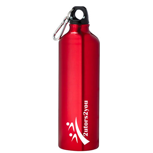 Venture Aluminum Red Bike Bottle 26oz '2utors2you'