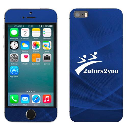 iPhone 5/5s Skin '2utors2you'