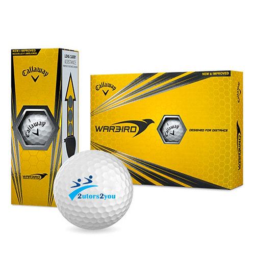 Callaway Warbird Golf Balls 12/pkg '2utors2you'